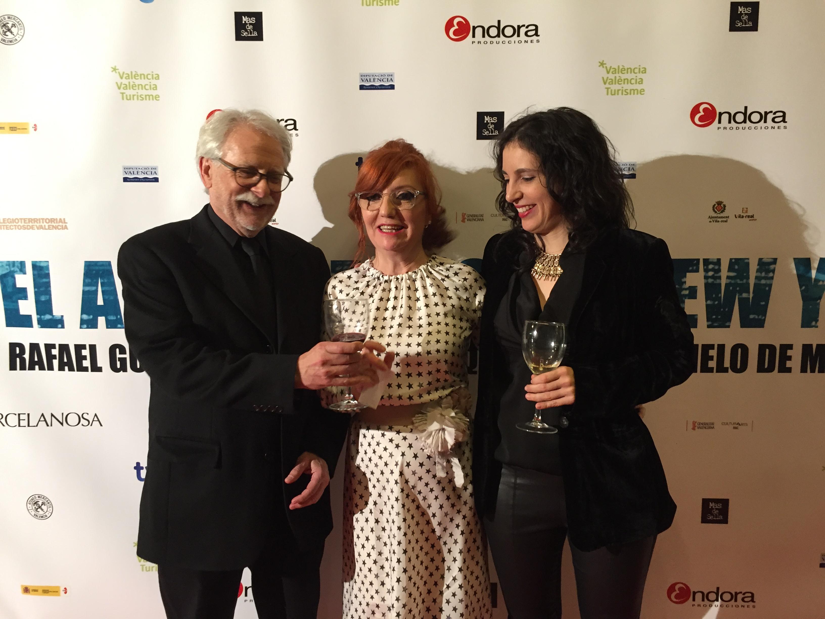 Right to left: Berta de Miguel, Eva Vizcarra, Kent Diebolt