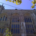 Sterling Memorial Library on the campus of Yale University