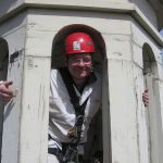 Mike at Lantern of Independence Hall Tower